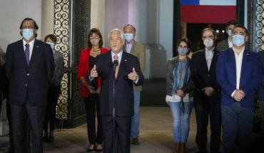 "President Piñera acknowledged the triumph of The Apruebo and said: ""This is a triumph of all Chileans"""