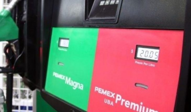 Price of gasoline and diesel in Mexico today October 3