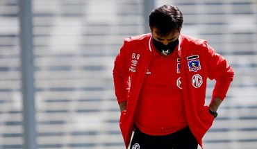 """Quinteros after defeat to Iquique: """"I think the only bad thing is the result"""""""