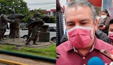 Remove Morelia Town Hall Statue of Slavery in Aqueduct