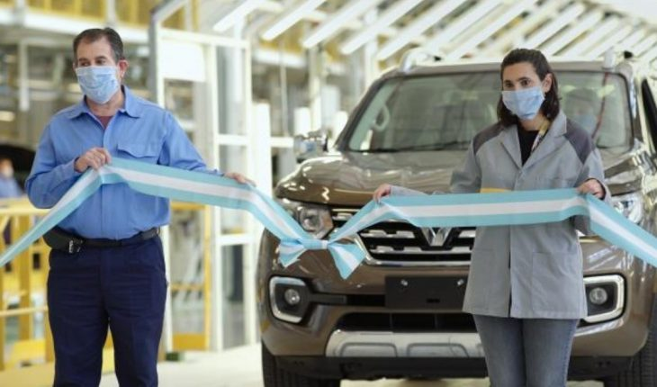 Renault started manufacturing the new Alaskan in Cordoba