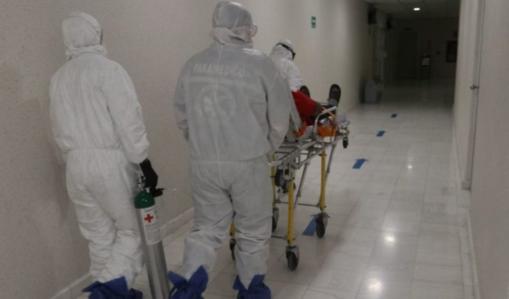 Report death of COVID patients by blackout at Tijuana hospital