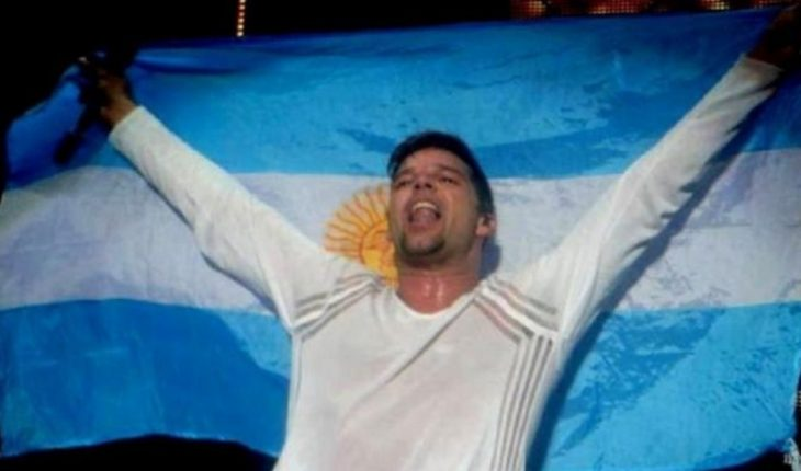 """Ricky Martin: """"Was I Argentinian in another life?"""""""