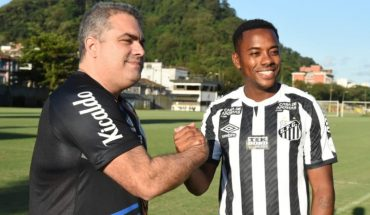 Robinho returns to Santos for five months and $190 a month