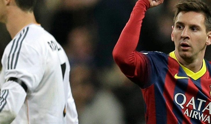 Scorer figure of Lionel Messi and Cristiano Ronaldo without penalties