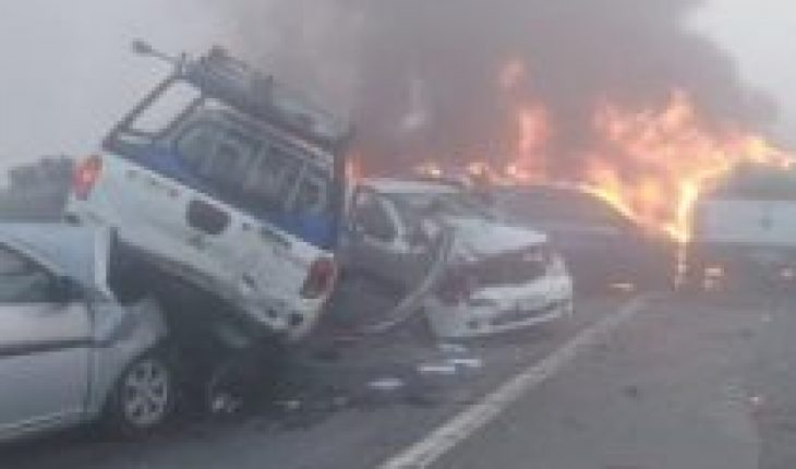 """Shocking road accident in Victoria involves 18 vehicles and leaves two fatalities: authorities deny the thesis of the """"attack"""""""