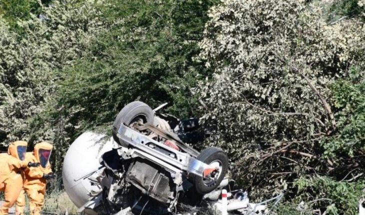 Strong overturning is reported on Guadalajara highway