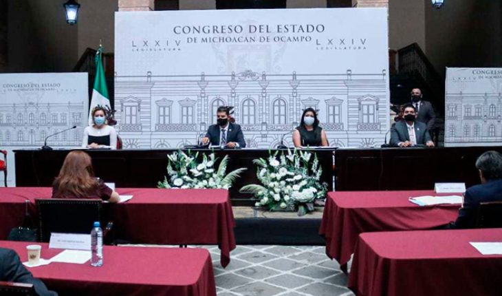 The plenary of Congress is notified of the final absence of Ocampo's edil