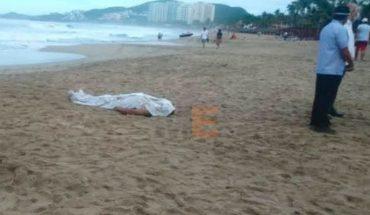 Ya fue localizado el joven que fue tragado por el mar en Zihuatanejo, Guerrero