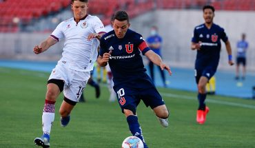 University of Chile beat La Serena at the National Stadium
