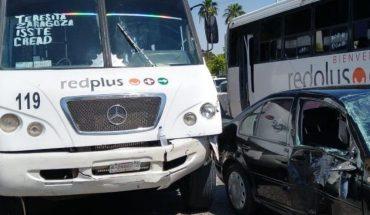 Urban truck crash in Los Mochis leaves woman injured