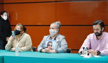 Victims protest in San Lazarus against elimination of trusts