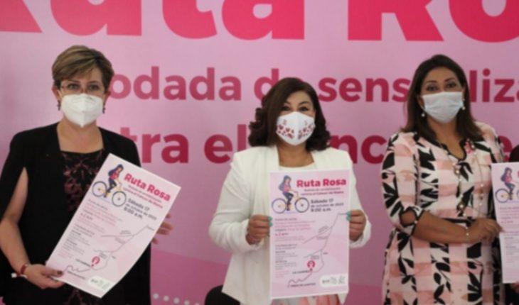 With Ruta Rosa, DIF Morelia commemorates breast cancer month