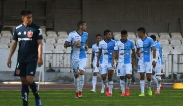 With a goal by Carlos Muñoz Antofagasta he defeated the U 1-0