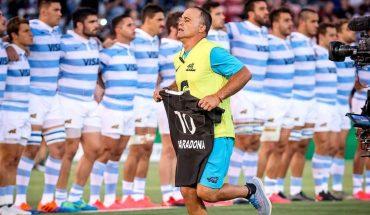 ¿Qué pasó con el homenaje de los Pumas a Maradona?
