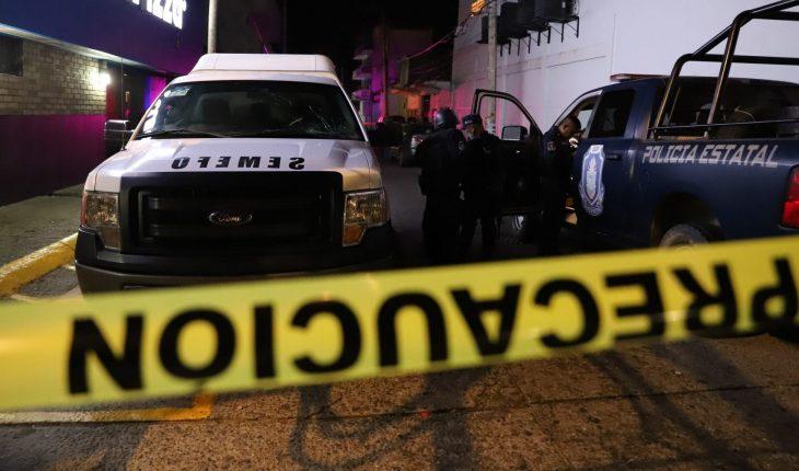 Balacera en bar deja 2 muertos y 10 heridos en Uruapan, Michoacán