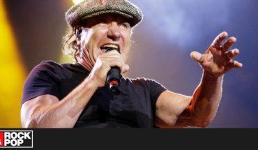 """Brian Johnson y su doble chileno: """"Iván canta jodidamente espectacular"""""""