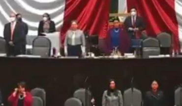 Cámara de Diputados minuto de silencio por Maradona