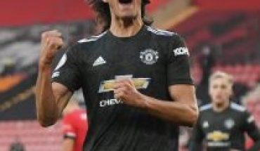 Cavani se llena de elogios en el United tras liderar remontada ante Southampton por la Premier League
