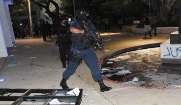 Cesan a director de la policía de Benito Juárez tras agresión manifestantes