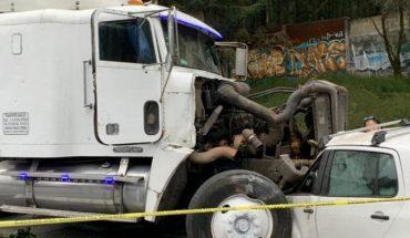 Choque en la carretera México-Toluca deja un muerto, Edomex