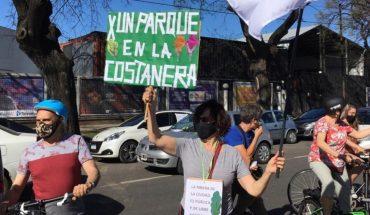 Convocan a una caravana en contra de la venta de terrenos en la Costanera