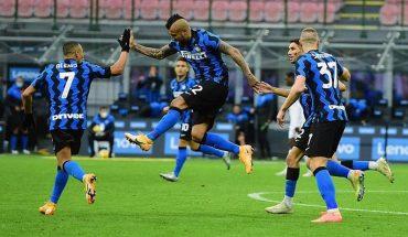 De la mano de Alexis y Vidal el Inter se posiciona en el subliderato de la Serie A