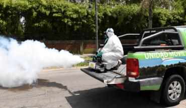 Dengue: cuestinonan la efectividad de las campañas de fumigación en la vía pública