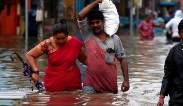 Devastadoras inundaciones tras ciclón Nivar en la India