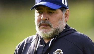 Diego Maradona fue internado en La Plata por precaución
