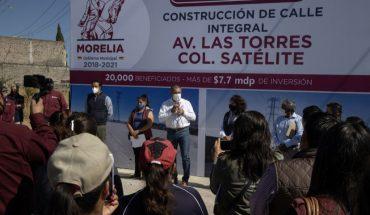 El Gobierno de Morelia ha invertido 23 millones de pesos en obra pública en la colonia Satélite