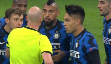 En Italia afirman que Vidal podría ser multado por su expulsión