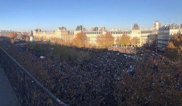 Francia: masivas protestas estallan contra ley que prohibiría difundir imágenes de agentes policiales