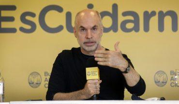 Horacio Rodríguez Larreta anuncia el fin del aislamiento en CABA