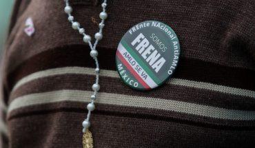 Integrantes de Frena realizan nueva marcha anti AMLO