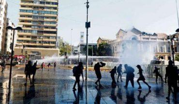 Interior analiza medidas tras cambio de zonas de protestas en Santiago