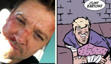 Jeremy Renner publicó una foto en el set de 'Hawkeye' e ilusionó a los fans