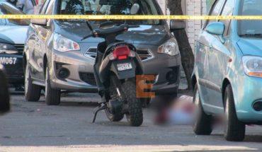 Joven es asesinado a balazos en la colonia Las Flores de Morelia