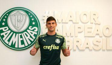 """Kuscevic presentado en Palmeiras: """"Jugar acá da más visibIlidad para la 'Roja'"""""""
