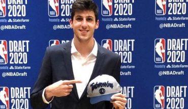 Leandro Bolmaro a la NBA: fue elegido por New York y pasó a Minnesota