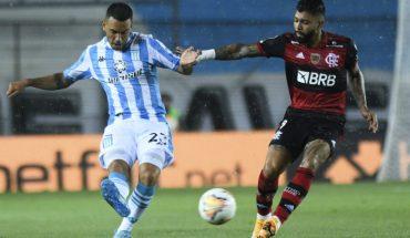 Libertadores: Racing y Flamengo empataron 1-1 en Avellaneda