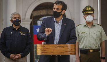"""Ministro Delgado tras reunión con altos mandos de Carabineros y la PDI: """"el respaldo a ambas instituciones está, pero hay desafíos pendientes"""""""