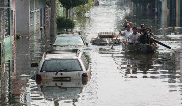 Nuevo frente frío y tormenta tropical amenazan al sureste; suman 8 muertos en Tabasco
