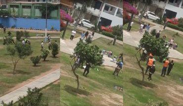Policía de Perú mata a un hombre de 52 años al intentar disolver un partido de futbolito