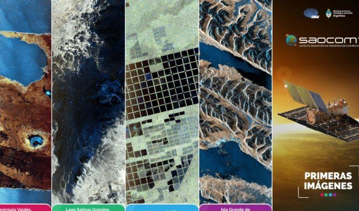 Primeras imágenes del SAOCOM 1B muestran la Argentina desde el Espacio