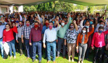 Ratifica su apoyo a Raúl Morón