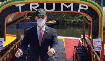 Republicanos hacen 'caravana' por Trump en la CDMX