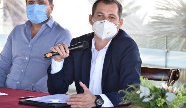 Se destapa diputado federal de Morena Agustín García para contender por la gubernatura.