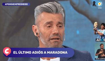 Sergio Goycochea volvió a emocionarse al recordar a Diego Maradona
