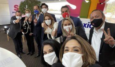 """Sí por México se une a PRI, PAN y PRD para elecciones de 2021; dicen que van por """"mayoría de Morena"""""""